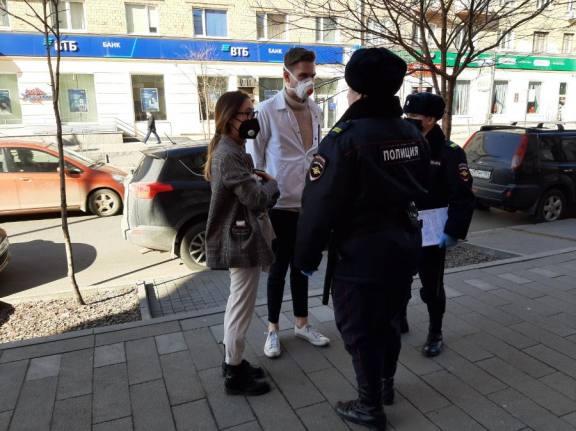 С 1 апреля жители Красноярска нарушили режим самоизоляции больше 4 тысяч раз