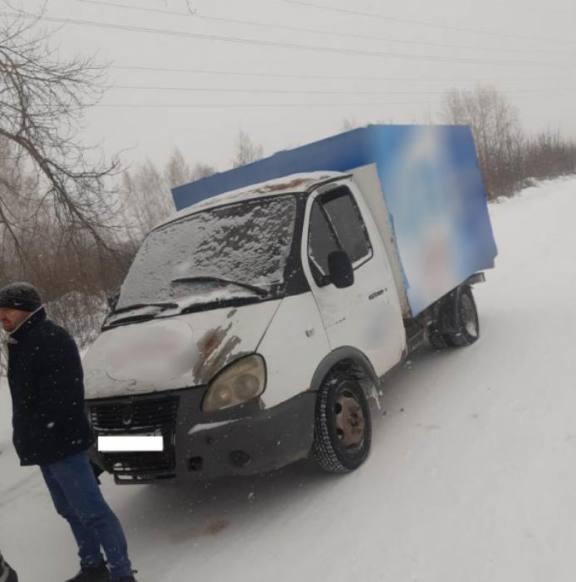 В Новосибирске пьяный рецидивист угнал грузовик и устроил погоню с полицией