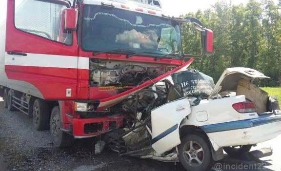Под Барнаулом в смертельном ДТП погибли 3 человека
